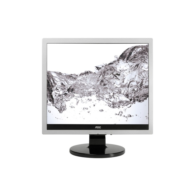 "AOC Pro-line E719SDA LED display 43,2 cm (17"") SXGA Nero, Argento"