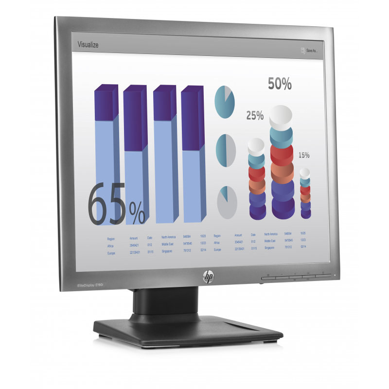 HP MONITOR ELITE DISPLAY E190I 1280X1024 250CD 8MS