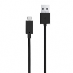 CELLY CAVO DATI MICROUSB, 1MT, NERO
