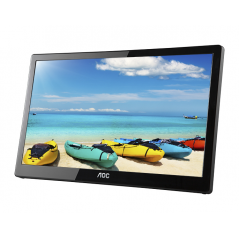 "AOC I1659FWUX 15.6"" Full HD LCD/TFT Piatto Nero monitor piatto per PC"