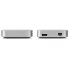 Buffalo MiniStation Thunderbolt 2.0TB disco rigido esterno 2000 GB Argento, Bianco