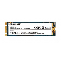 PATRIOT SSD SCORCH 512GB M.2 PCIE GEN 3X2 NVM2 1.2