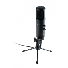 NACON PCST-200MIC microfono Table microphone Cablato Nero