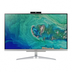"""Acer Aspire C24-865 60,5 cm (23.8"""") 1920 x 1080 Pixel 1,60 GHz Intel® Core™ i5 di ottava generazione i5-8250U Argento PC All-"""