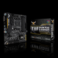 ASUS TUF B450M-PLUS GAMING AMD B450 Presa AM4 Micro ATX