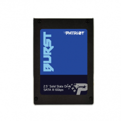 PATRIOT SSD BURST 120GB SATA3 6GB/S 2,5 560/540 MB/S