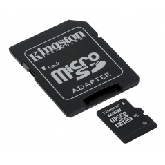 Kingston Technology 16Gb microSDHC 16GB MicroSDHC Flash Classe 4 memoria flash