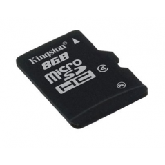 Kingston Technology 8GB microSDHC 8GB MicroSD Flash memoria flash