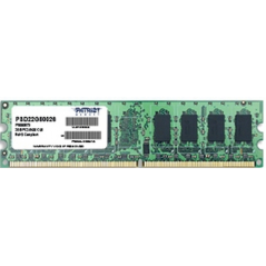 PATRIOT RAM DIMM 2GB DDR2 800MHZ CL6 NON ECC
