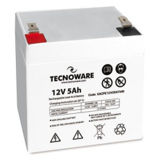 TECNOWARE POWER BATTERY 12V 5AH FASTON 6,3MM