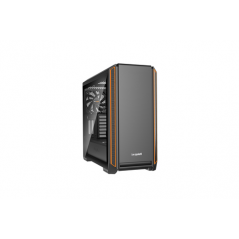 BE QUIET! CASE ATX-EATX SILENT BASE 601 WINDOW, 7+2 HDD SLOT, 1XUSB2.0, 2XUSB3.0, 1XAUDIO I/O, ORANGE