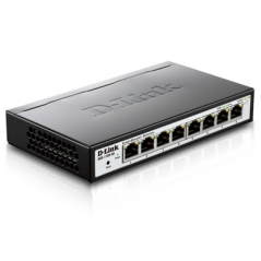 D-Link DGS-1100-08 Gestito Nero switch di rete