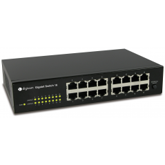 Digicom SWG16-Z01 Gestito Gigabit Ethernet (10/100/1000) Nero