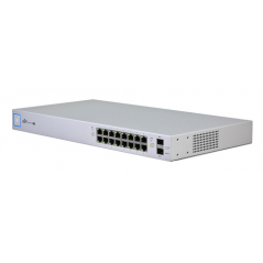 UBIQUITI SWITCH 16 PORTE GIGABIT POE 150W (TOT) + 2 SFP MANAGED LAYER2 RACK MOUNTABLE