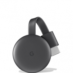 GOOGLE ADATTATORE CHROMECAST GRAY CHROME OS