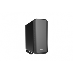 BE QUIET! CASE ATX-EATX SILENT BASE 801, 7+2 HDD SLOT, 1XUSB2.0, 2XUSB3.0, 1XAUDIO I/O, BLACK