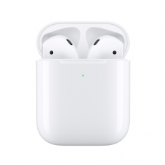 APPLE AIRPODS SECONDA GENERAZIONE + CUSTODIA RICARICA WIRELESS