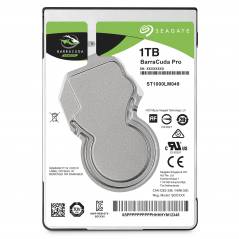 SEAGATE BARRACUDA PRO 1TB 2.5 IMAGING/GAMING