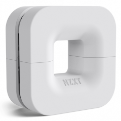NZXT PUCK HEADPHONES AND CABLE MANAGMENT KIT - WHITE