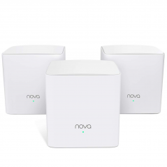 TENDA NOVA MW5 ROUTER MESH WI-FI AC1200 KIT 1+2 SAT DUAL BAND