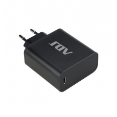 ADJ USB TYPE-C POWER ADAPTER 45W, CAVO INCLUSO, BLACK