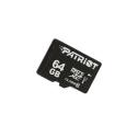 SD-MICRO PATRIOT 64GB incl. Adapter Class 10 - PSF64GMCSDXC10
