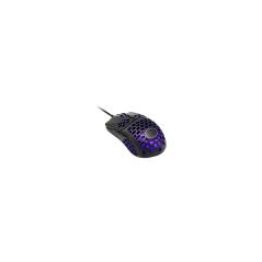 COOLER MASTER MOUSE GAMING WIRED MASTERMOUSE MM711 OPTICAL USB 16000 DPI LUCE RGB COLORE NERO OPACO
